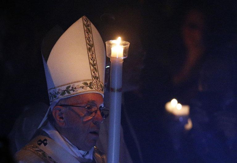 papa Francisco Vigilia Pascual Sábado Santo 15 abril 2017