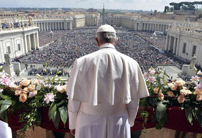 papa Francisco Domingo de Resurrección 16 abril 2017 mensaje Urbi et Orbi