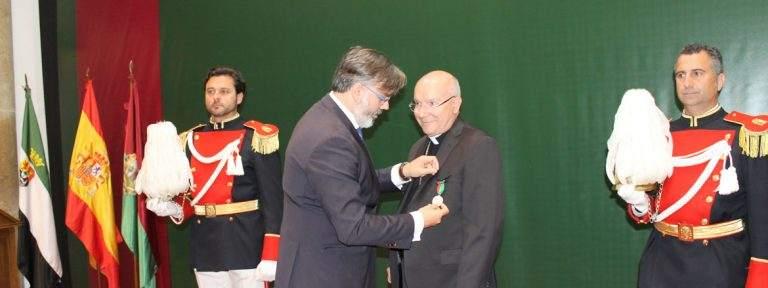 Amadeo Rodríguez Magro obispo de Jaén y antes de Plasencia HIjo Adoptivo Plasencia 22 abril 2017