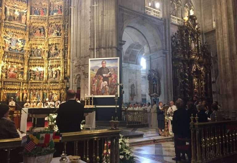 El padre Luis Ormières, beatificado en la catedral de Oviedo el 22 de abril de 2017. Es el fundador de las hermanas del Ángel de la Guarda