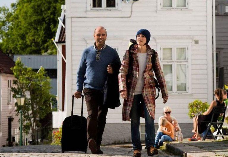 Fotograma de la película Un italiano en Noruega