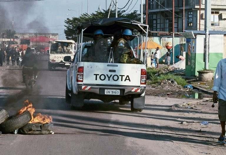 Las calles de la RDC son escenario de enfrentamientos