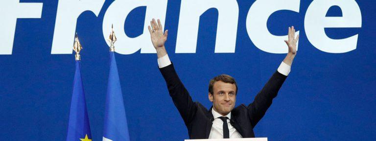 Macron, candidato a presidente de Francia