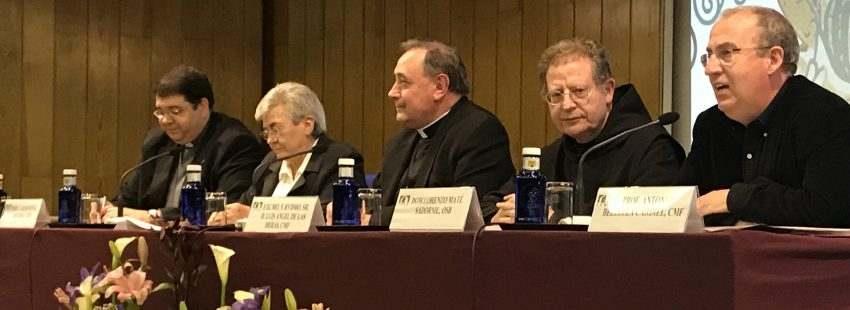 Lorenzo Maté, abad del Monasterio de Silos, en la 46ª Semana de Vida Consagrada de ITVR