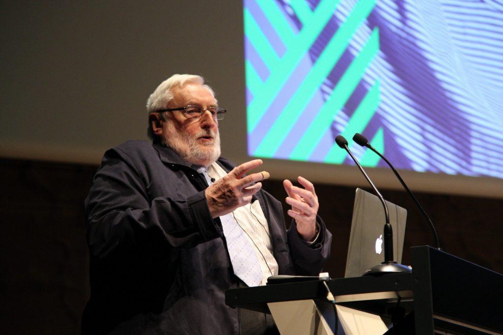 Javier Elzo, en el Congreso de Márketing Religioso