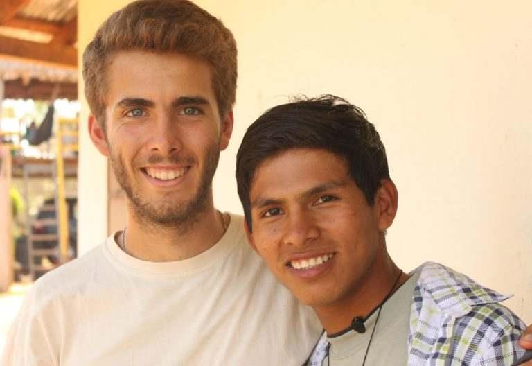 Javier López Frías, joven misionero
