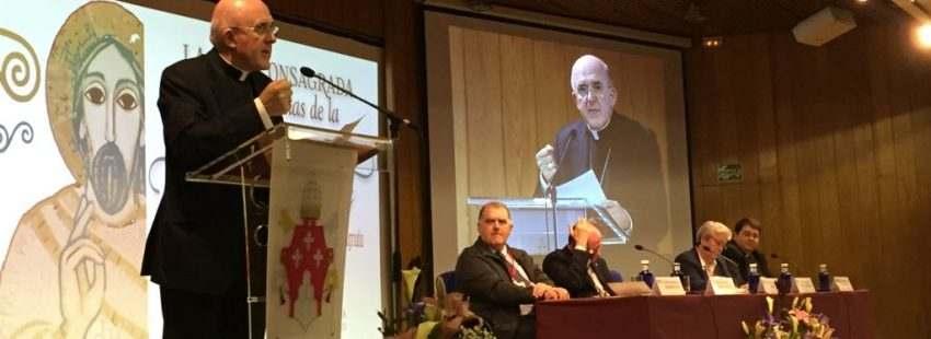 El cardenal Osoro, en la Semana de la Vida Consagrada