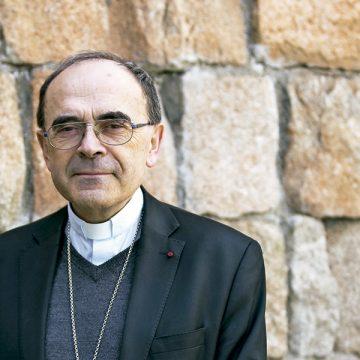 Philippe Barbarin, cardenal arzobispo de Lyon y primado de las Galias en Madrid abril 2017
