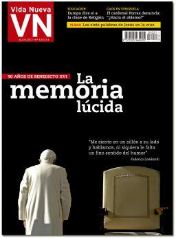 portada Vida Nueva España 3031 90 cumpleaños Benedicto XVI