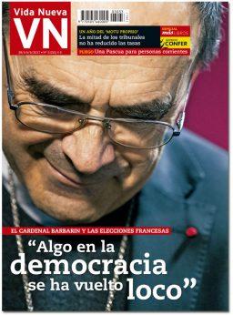 portada Vida Nueva edición España entrevista al cardenal Philippe Barbarin 3033 abril 2017
