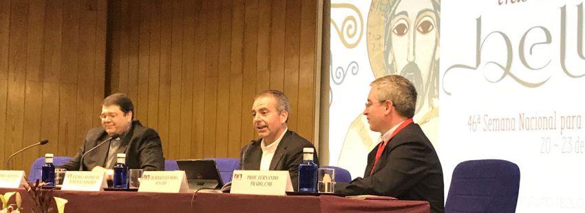Sebastián Mora, secretario de Cáritas Española, en la 46 Semana Nacional de Vida Consagrada del ITVR abril 2017