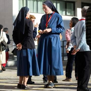 Imagen de archivo de unas religiosas en la Semana Nacional para Institutos de Vida Consagrada 2016