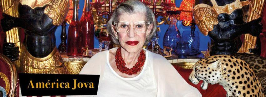 América Jova, madre de la cantante Alaska