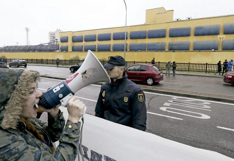 CIE de Aluche Centro de Internamiento de Extranjeros Madrid