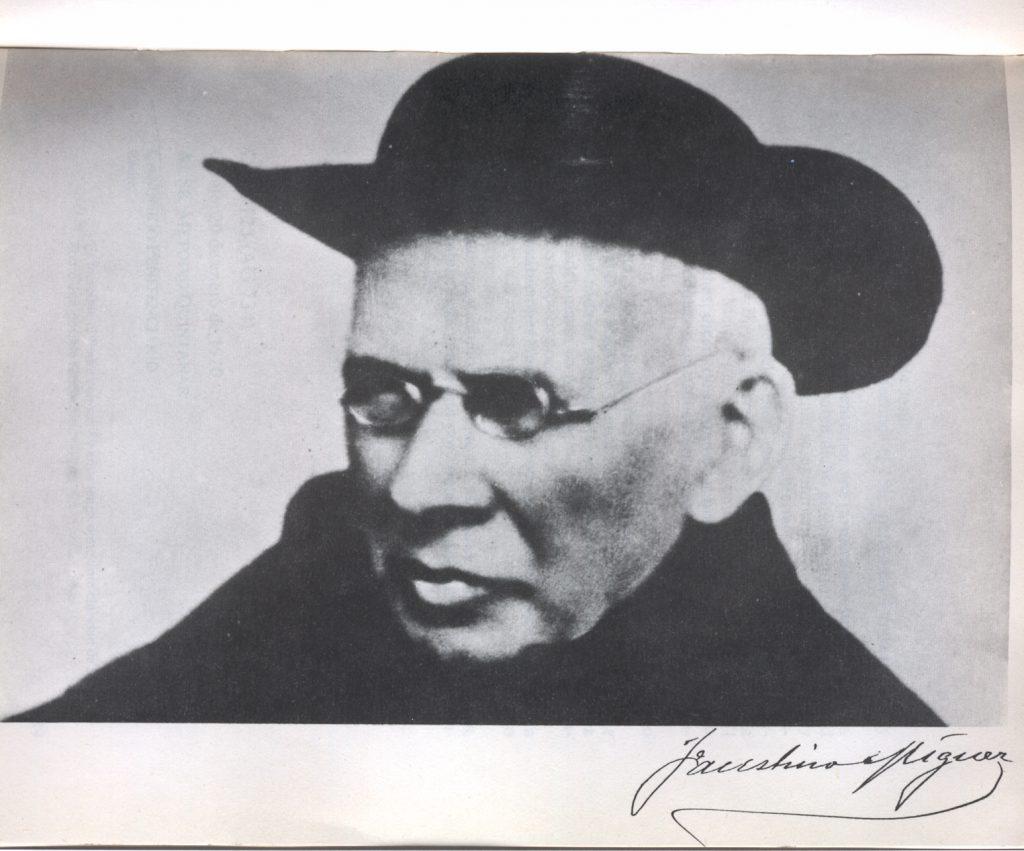 El escolapio Faustino Míguez, fundador de las religiosas calasancias
