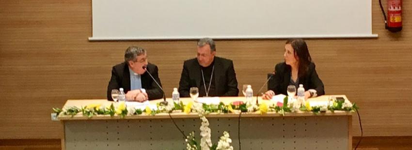 Angel Galindo Semana Teología Guadix Baza obispo Ginés García Beltran abril 2017