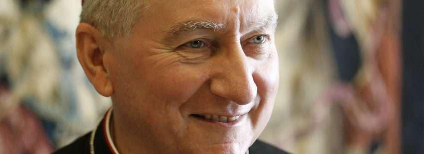 El secretario de Estado de la Santa Sede, Pietro Parolin