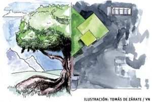 ilustración de Tomás de Zárate para artículo de Francesc Torralba 3031