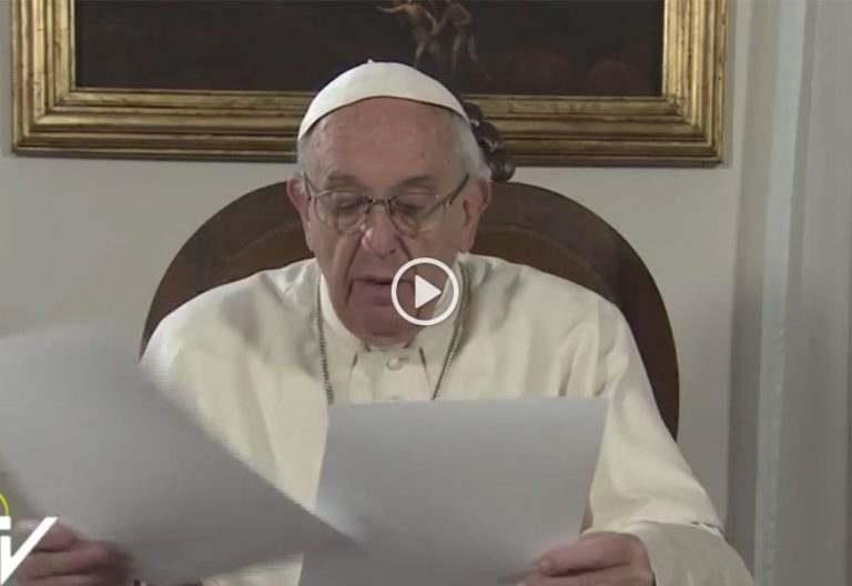 papa Francisco envía un vídeo de saludo los días previos a la visita apostólica abril 2017