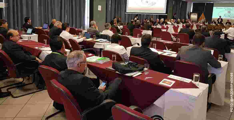 inauguración de la 36 Asamblea Ordinaria del CELAM San Salvador mayo 2017