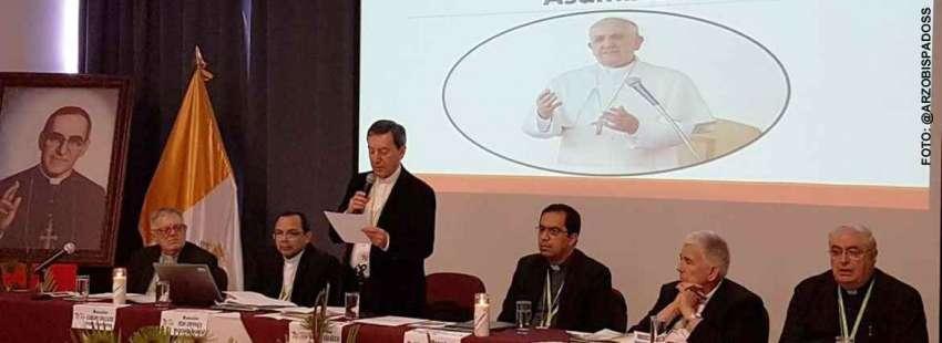 36 Asamblea Ordinaria del CELAM en San Salvador mayo 2017 inauguración lectura mensaje del papa Francisco cardenal Rubén Salazar