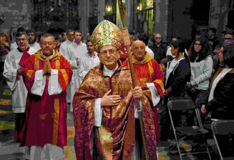 El cardenal Amato preside en la catedral de Girona la beatificación de los mártires de Canet