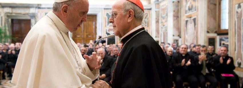 Francisco y el cardenal Blázquez