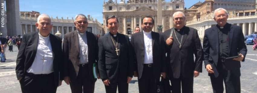 CELAM presidencia del Consejo Episcopal Latinoamericano Vaticano visita papa Francisco mayo 2017