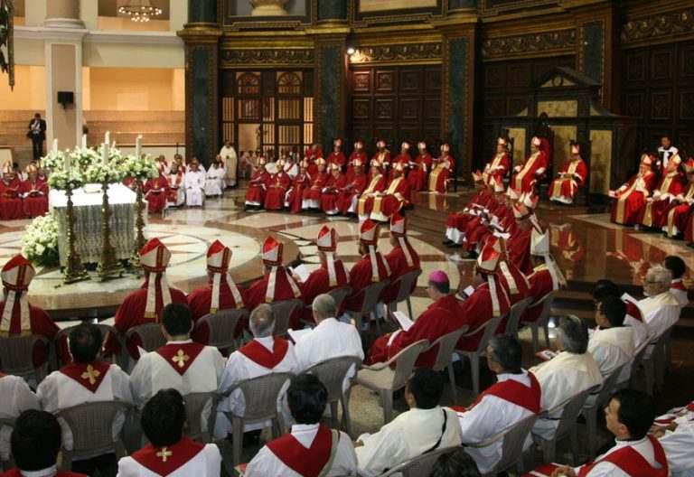 36 Asamblea Ordinaria CELAM mayo 2017 misa en San Salvador retrato Beato Óscar Romero