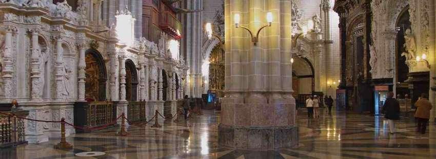 Interior de la catedral del Salvador (Zaragoza)