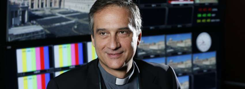 Dario Viganò, prefecto de la Secretaría de Comunicación del Vaticano