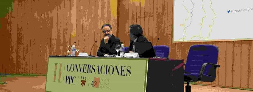 Fernando Vidal, durante su ponencia en II Conversaciones PPC el 5 de mayo de 2017