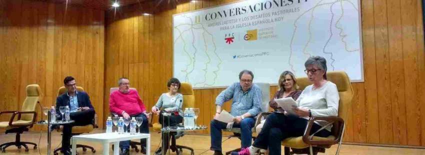 Los participantes de la mesa redonda de II Conversaciones PPC el 5 de mayo de 2017