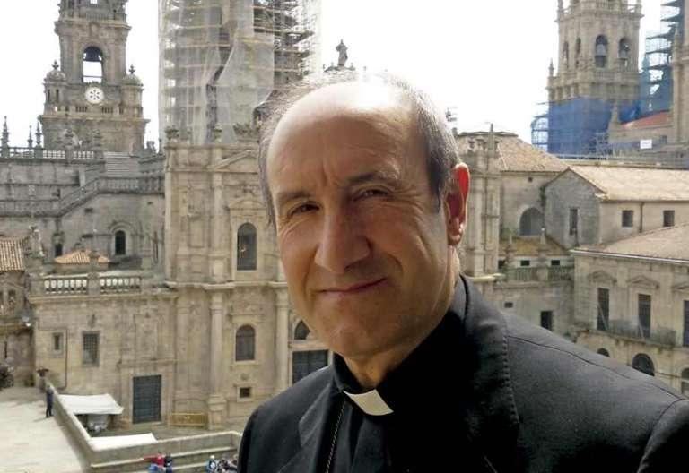 Jesús Fernández, obispo auxiliar de Santiago de Compostela y obispo responsable de Cáritas