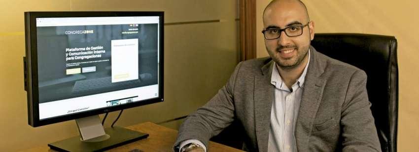 Juan Borrego, director de Comunica+, empresa impulsora de Congregazone