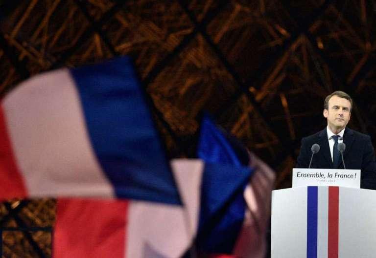 Macron gana las elecciones en Francia el 7 de mayo de 2017