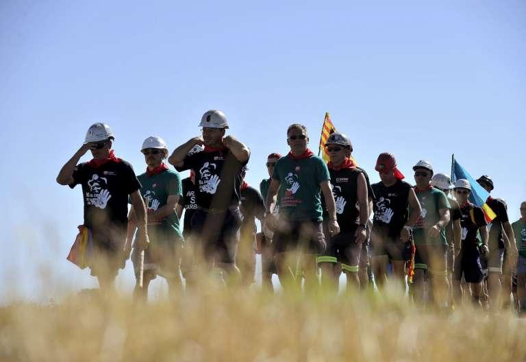 Mineros manifestación