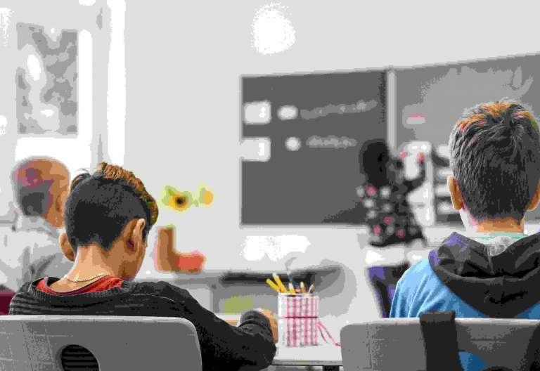 Alumnos, colegio