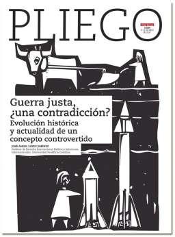 portada Pliego Guerra justa una contradicción 3034 mayo 2017