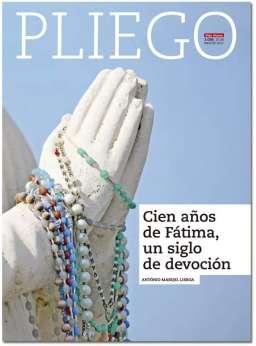 portada Pliego Centenario de Fátima 3036 mayo 2017
