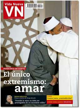portada Vida Nueva viaje papa Francisco Egipto 3034 mayo 2017