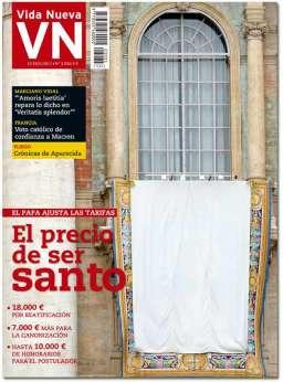 portada Vida Nueva Cuánto cuesta ser santo 3035 mayo 2017 Grande