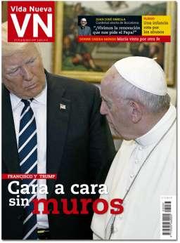 portada Vida Nueva Encuentro Trump y Francisco 3037 mayo 2017