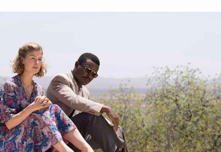 Fotograma de la película Un reino unido