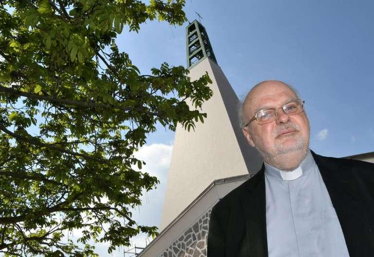 El obispo de Estocolmo Anders Arborelius, nombrado cardenal por Francisco 21 de mayo de 2017 Regina Coelli