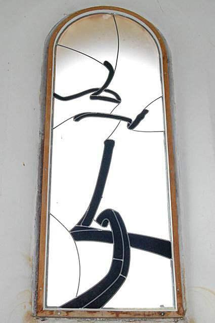 Capilla de Saent-Jean (Francia), de Bernar Venet