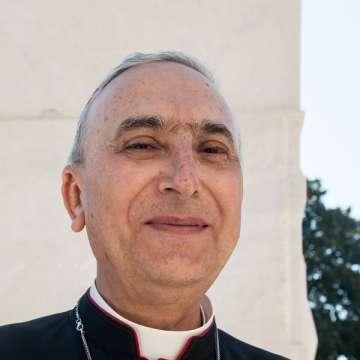 El nuncio apostólico en Siria, cardenal Mario Zenari fotografía de archivo