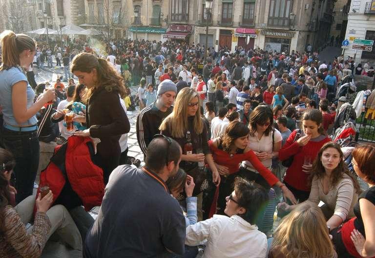 Jóvenes en Granada