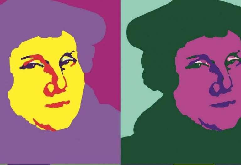 Retrato pop de Lutero