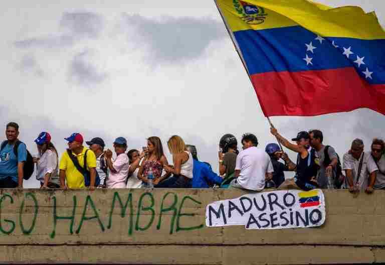 Venezuela manifestaciones en Caracas contra el Gobierno y las medidas de Nicolás Maduro crisis violencia